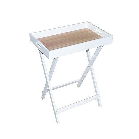 Tavolino Vassoio Pieghevole.Butlers Vassoio Mini Vassoio Pieghevole Tavolo Tavolo