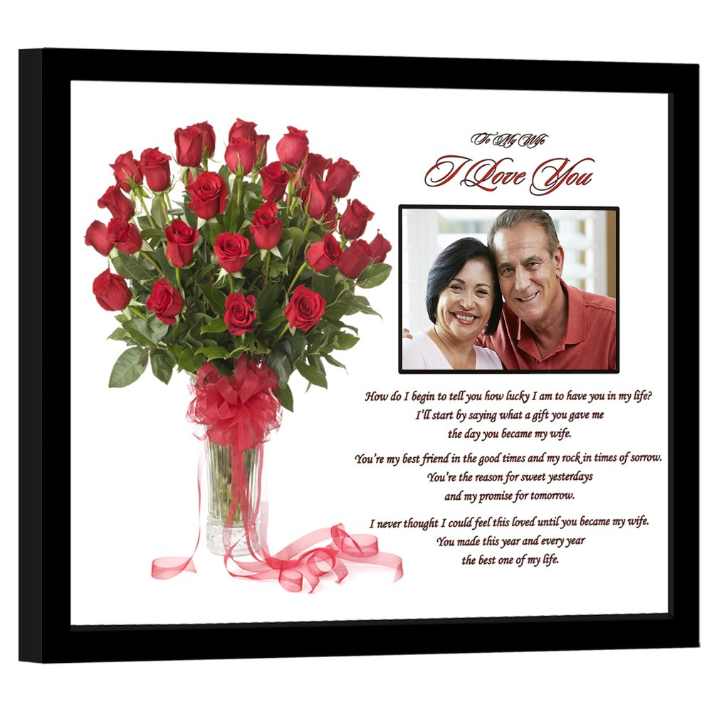Amazon.com - I Love You Gift for Wife - Romantic Gift From Husband ...