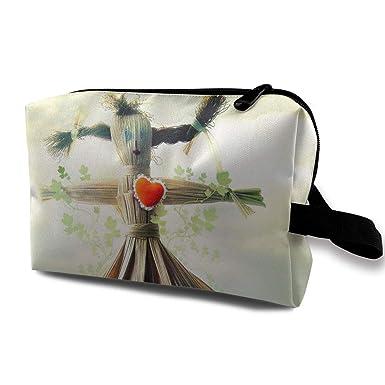 Amazon.com: Scarecrow Imagen Bolsas de cosméticos ...