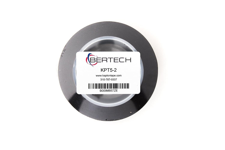 2 Wide x 36 Yards Long 5 Mil Thick Bertech Kapton Tape 3 Core 2 Wide x 36 Yards Long 3 Core KPT5-2