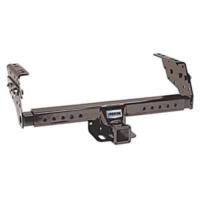 "Reese Towpower 37042 Class III Multi-Fit Receiver Hitch with 2"" Receiver opening, Black: Automotive"