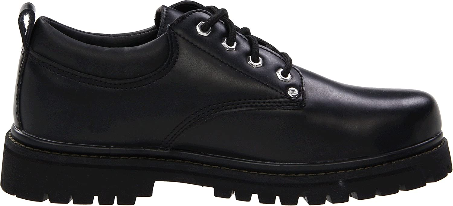Menns Skechers Alley Cats Brun 2XhWnpga