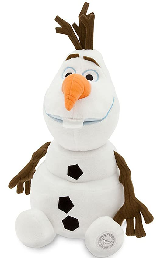 48af7bc454d Amazon.com  Disney Olaf Plush - Frozen - Medium - 13 1 2    Toys   Games