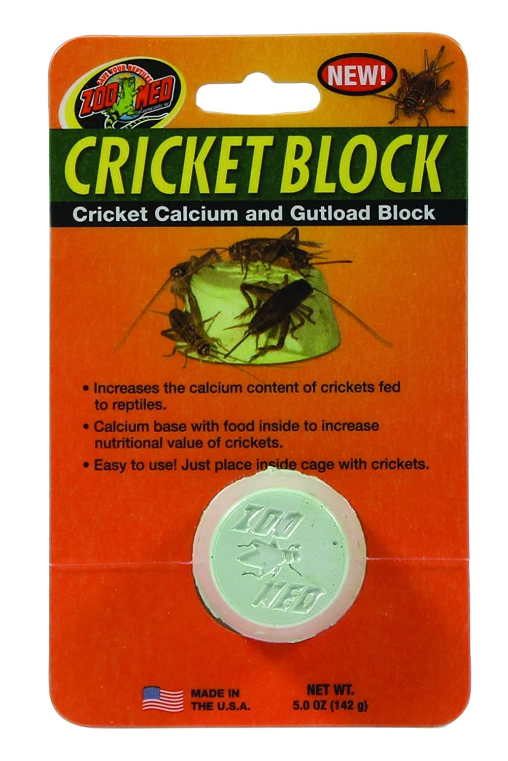 Cricket Block 5 Ounces Zoo Med Laboratories BC690015