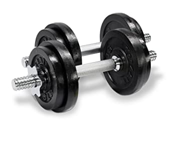 Amazon.com : Yes4All Adjustable Dumbbells, 40.00 Pounds : Sports ...