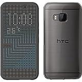 HTC Dot View Ice - Funda para móvil HTC ONE M9, negro