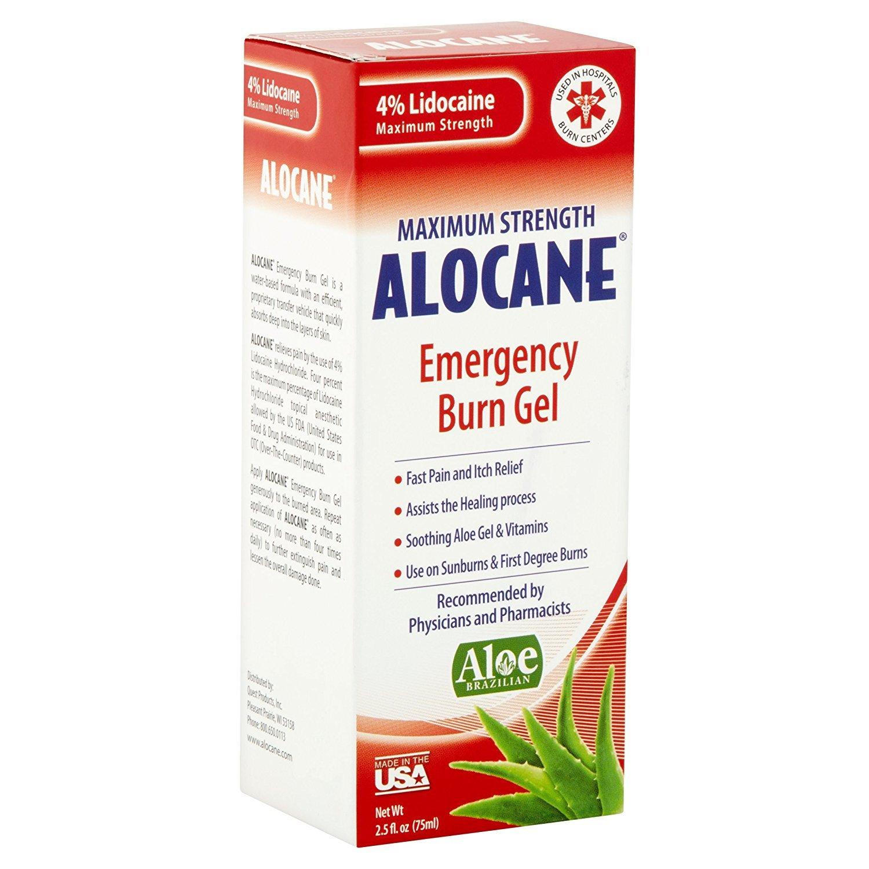 Alocane Maximum Strength Emergency Room Burn Gel 2.5 oz (Pack of 2)