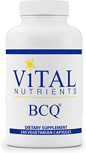 Vital Nutrients – BCQ Bromelain, Curcumin and Quercetin – Herbal Support for Joint, Sinus and Digestive Health – 240 Capsules per Bottle