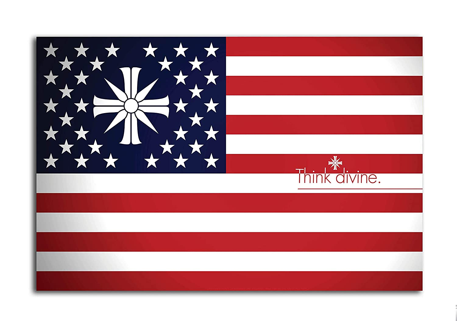 Tamatina Gaming Poster Far Cry 5 Flag Game Large Size Poster Hd Quality 36 Inches X 24 Inches 92 Cms X 61 Cms Amazon In Home Kitchen