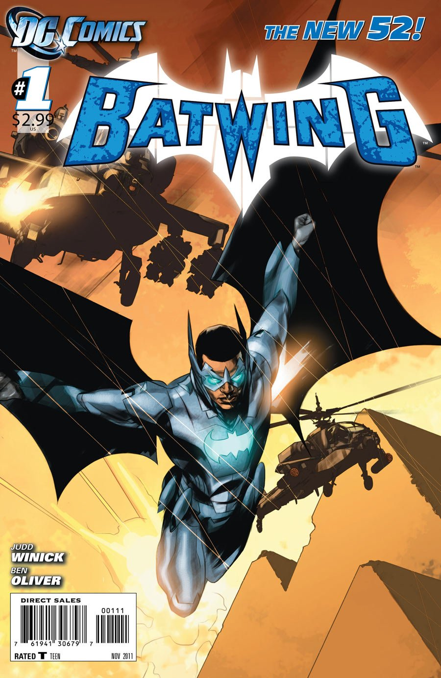 "Download Batwing #1 ""1st Print- Meet Batwing, the Batman of Africa"" pdf"