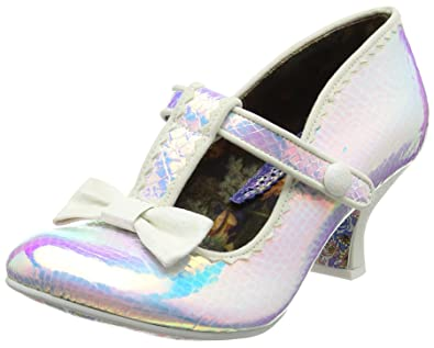 Irregular Choice Damen Lazy River Pumps Weiszlig; (White) 37 EU