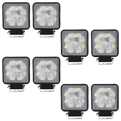 VINGO®27W LED Lámpara de trabajo Proyector SUV Luz de trabajo ...