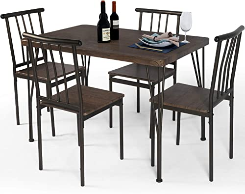 LAZZO 5 Piece Dining Table Set