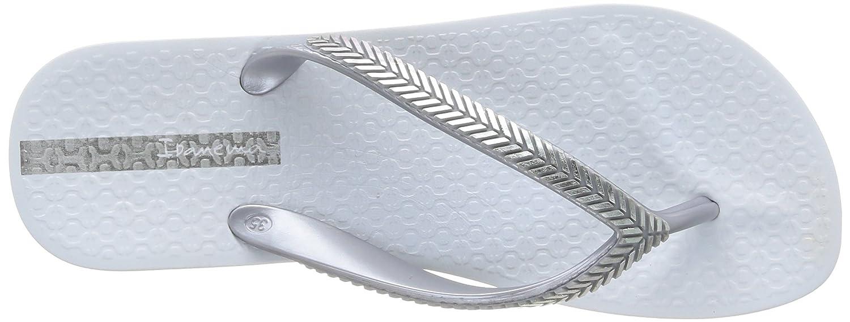 Ipanema Bella Ii, Damen Zehentrenner, Weiß (23141/white/silver), 39 EU