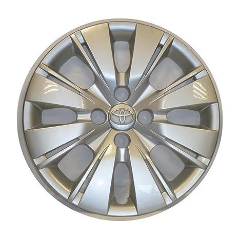 Embellecedores tapacubos Copa rueda x Toyota yaris 3 2011 15 pulgadas, recambio