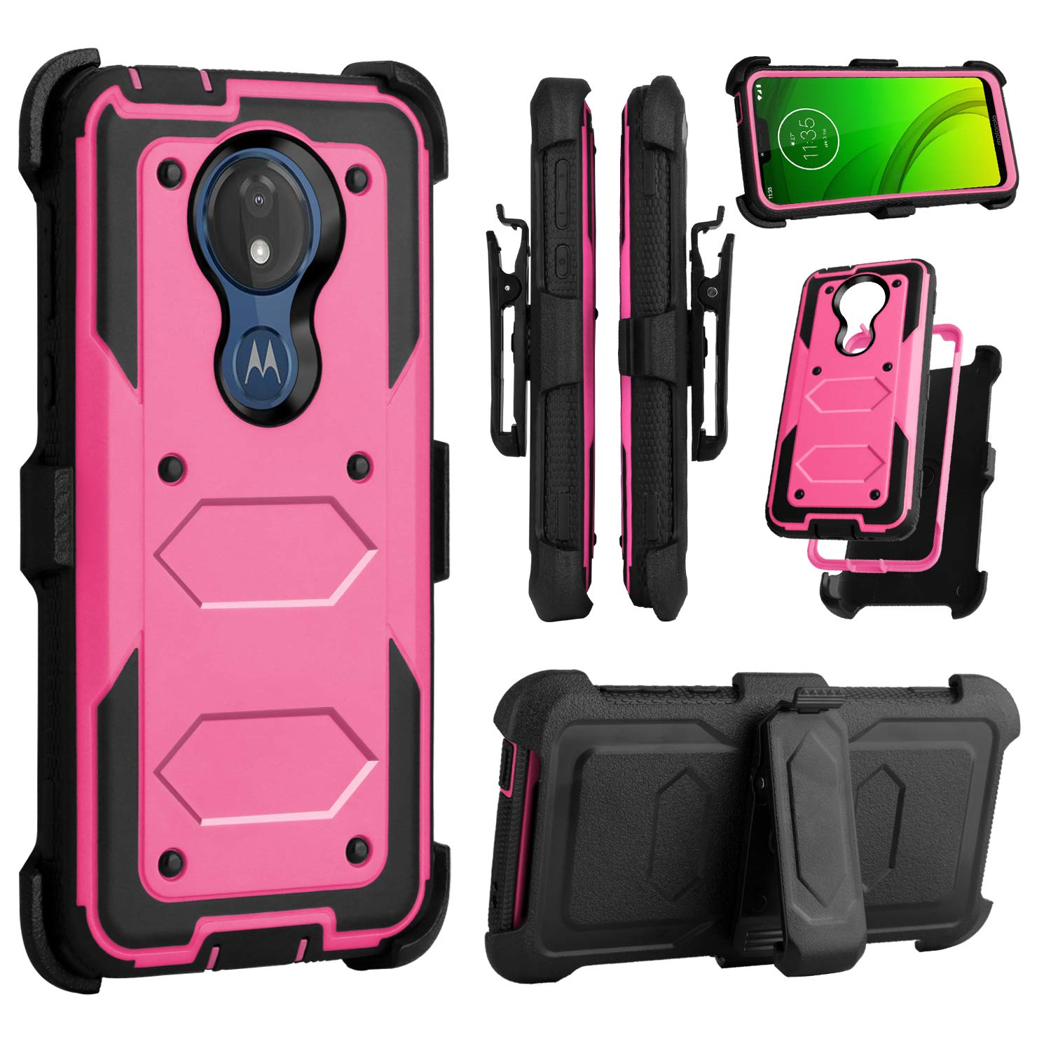 Funda para Moto G7 Power Con Pie VENORO (7P6HQ1KX)