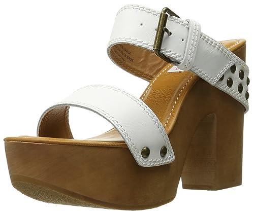 0afe2fe83268 Two Lips Women s Sophia Heeled Sandal White 7 ...