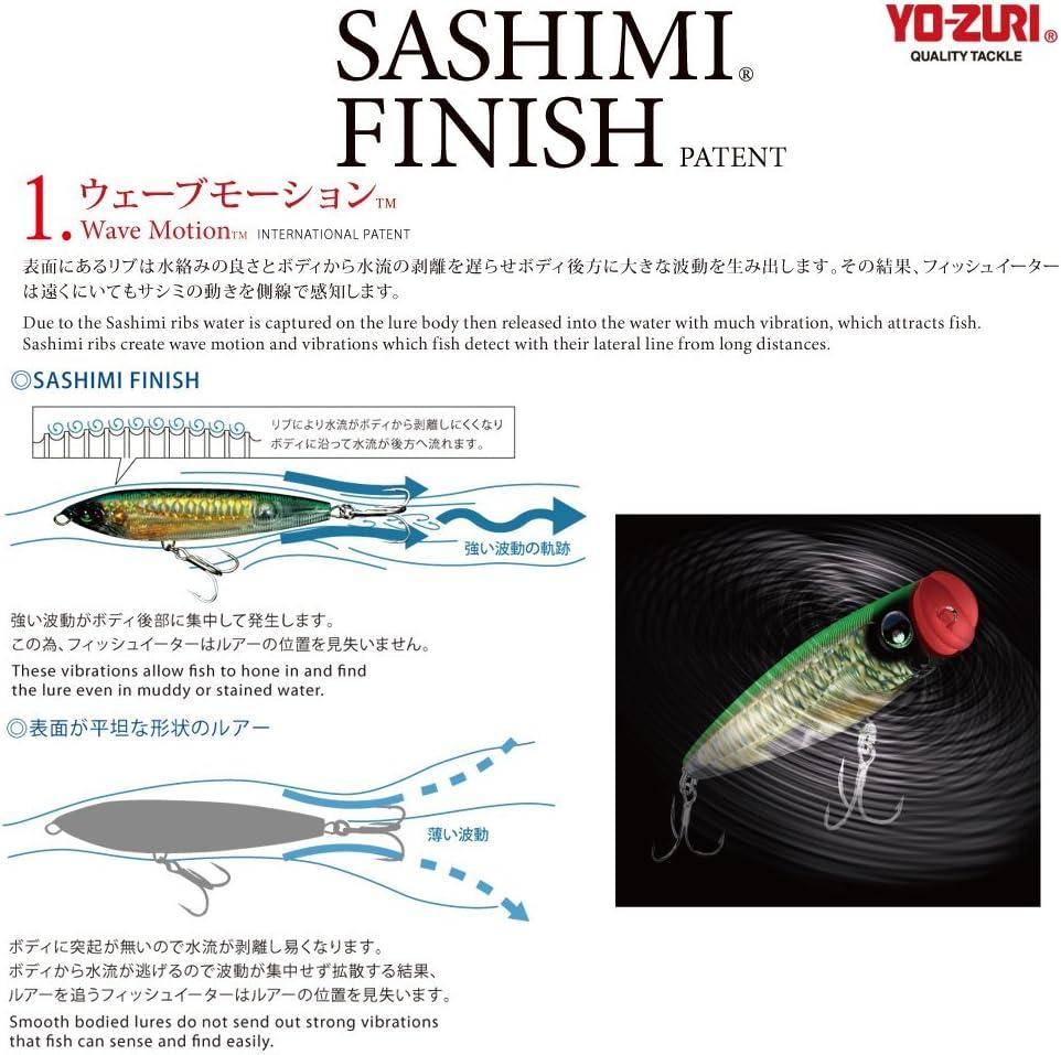 Ripbait Yo-Zuri 3D Magnum Floating Deep Diver 7 inch Big Game Slashbait