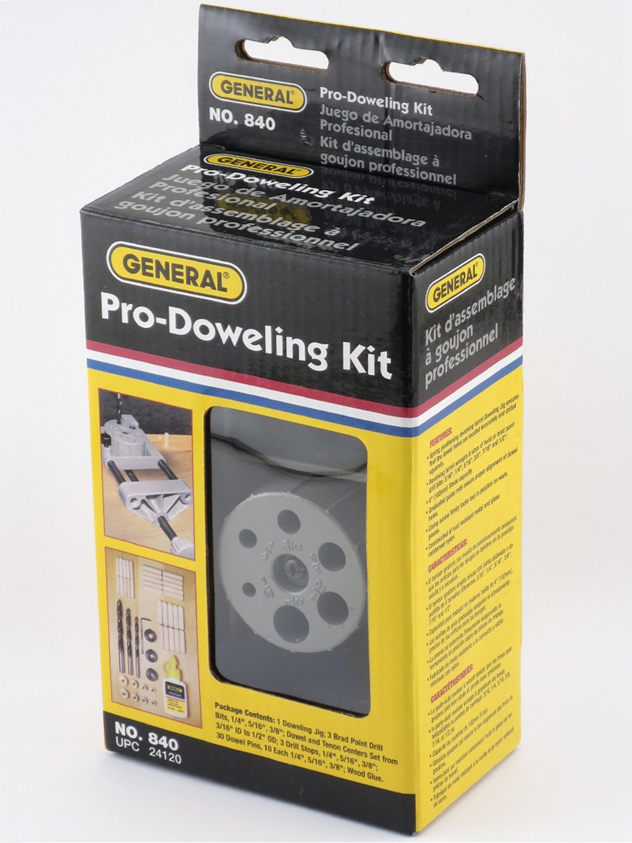 General Tools 841 E-Z Pro Doweling Jig Kit General Tools Mfg Co In 30345