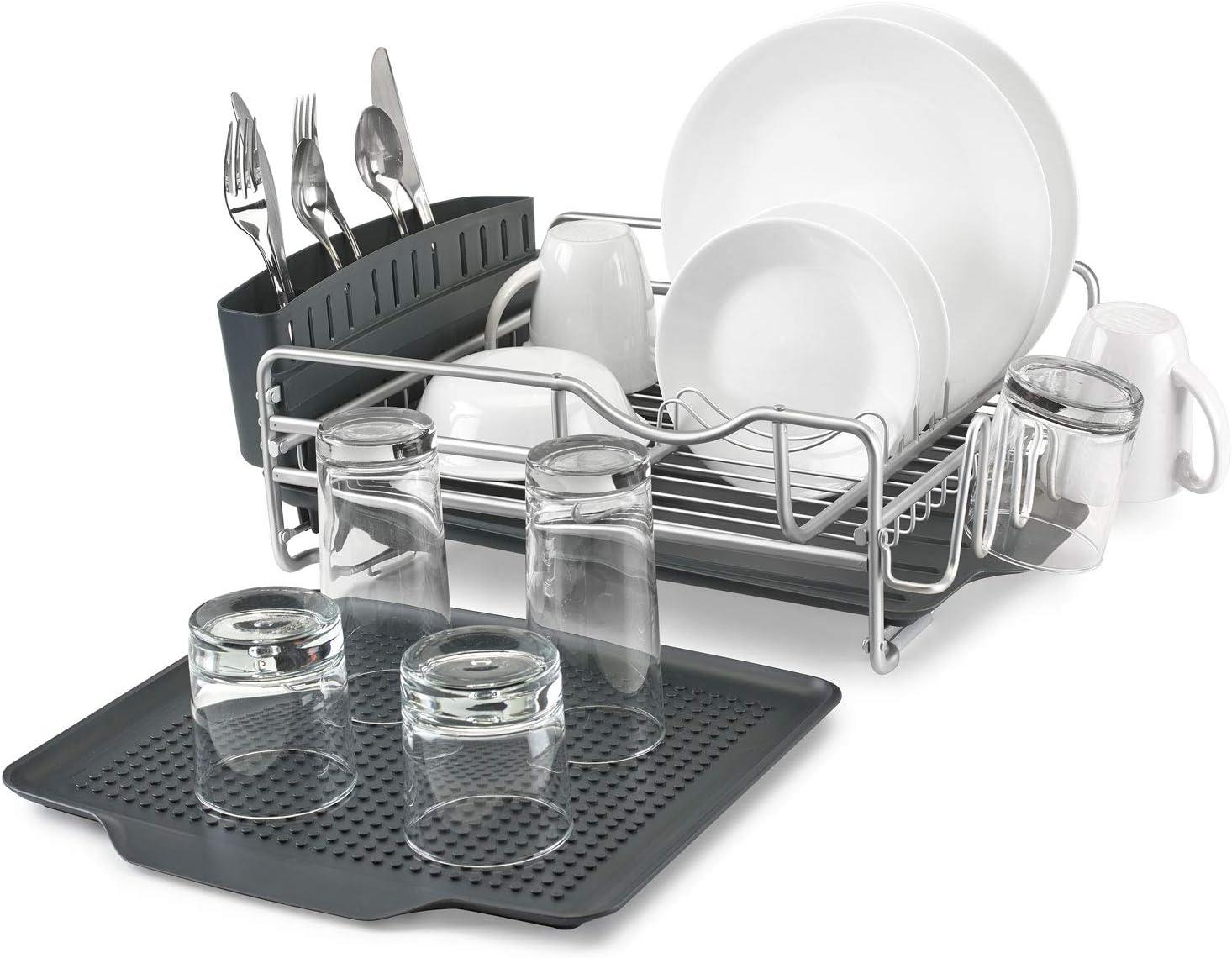 Polder 4-Piece Aluminum Advantage Dish Rack