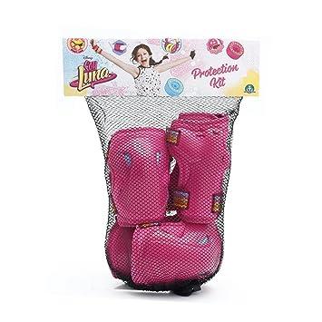 Soy Luna - Set protección de patinaje, talla S (Giochi Preziosi YLU02111): Amazon.es: Juguetes y juegos