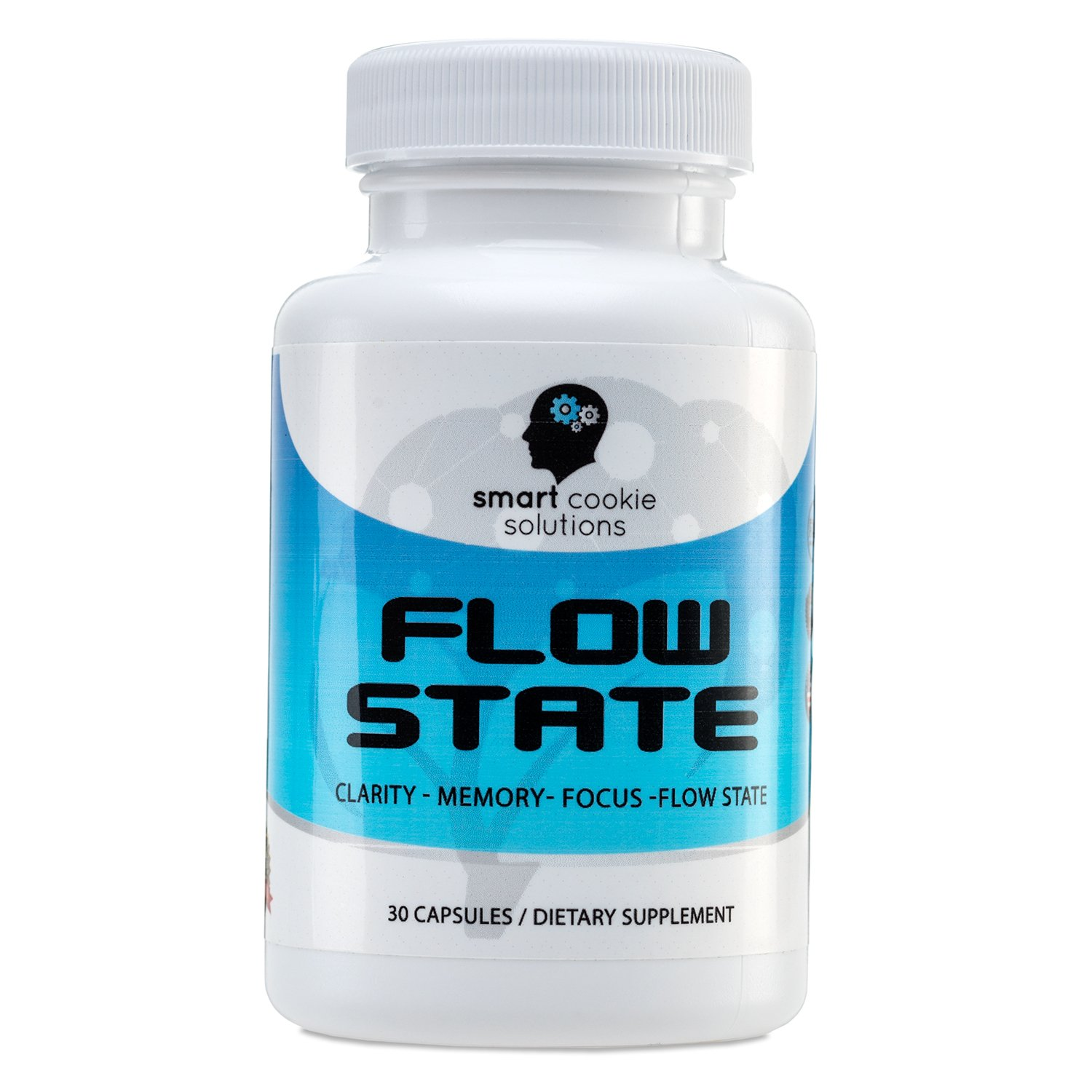 Flow State - Brain Support Supplement for Memory, Focus, Clarity and Flow State