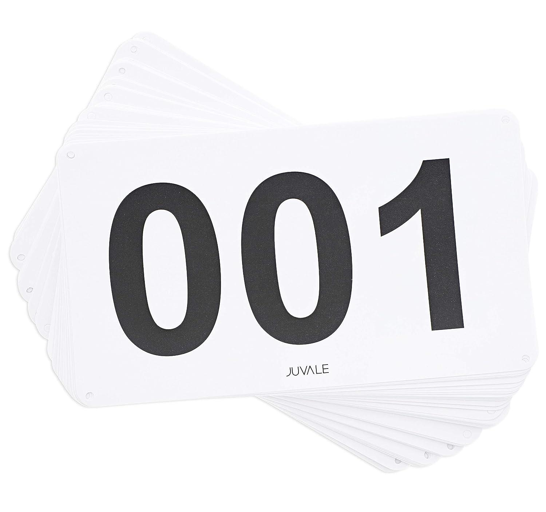 低価格の Juvale 500個入り レーシングナンバーマラソンレース用よだれ掛け 4 ランニング番号 001-500 4 001-500 x B07KHLXKNB 7インチ B07KHLXKNB, Saintbebe:97f646e6 --- svecha37.ru