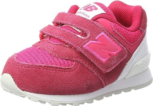 new balance 574 niña rosa