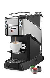 Cuisinart EM-400 Buona Tazza Single Serve Espresso Maker, Black