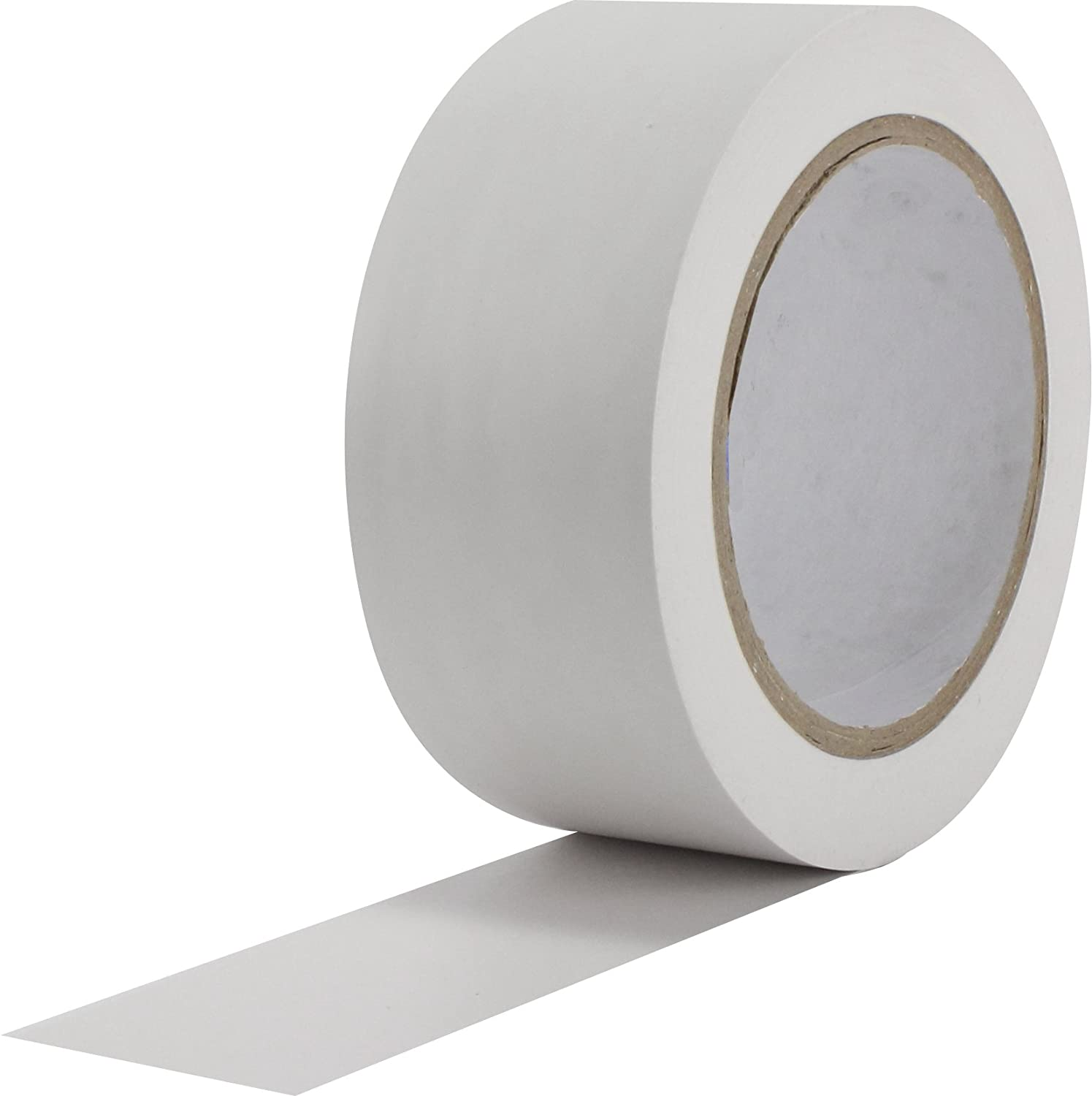 ProTapes Pro 50 Premium Vinyl Safety Marking and Dance Floor Splicing Tape, 6 Mils Thick, 36 Yds Length X 3' Width, White (Pack of 1) 36 Yds Length X 3 Width ProTapes & Specialties 50-6-3x36-W