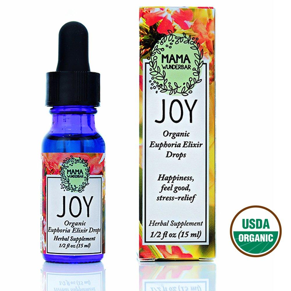 Flower Essences - Joy - Rose Hydrosol - Lemonbalm Tincture - Happiness, Feel Good, Stress Relief - Organic by MAMA WUNDERBAR