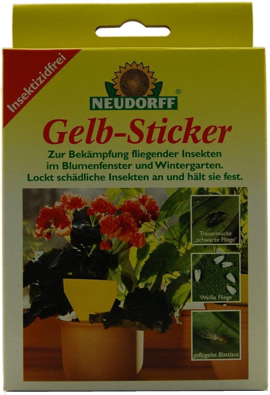 Neudorff Gelb-Sticker 5 St/ück