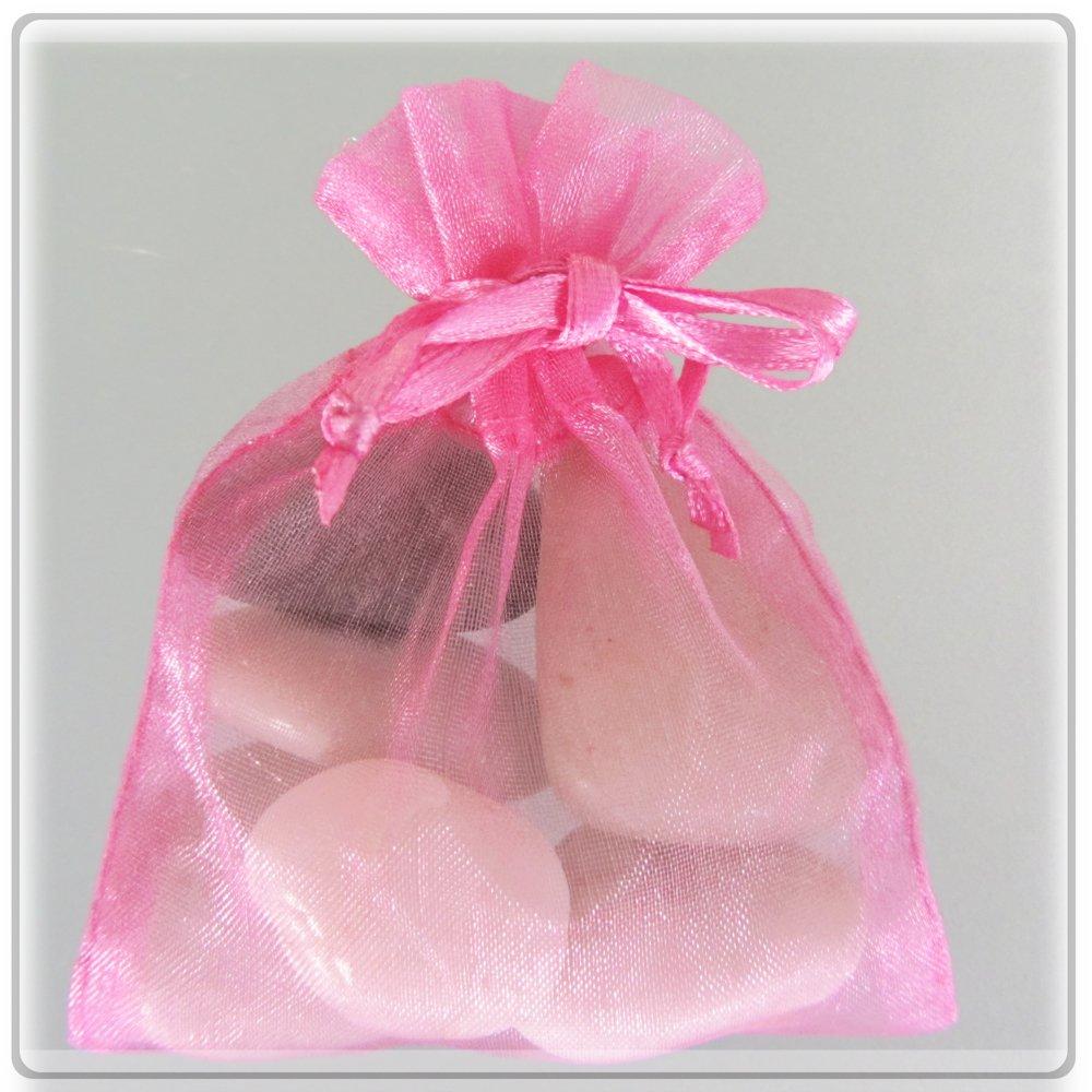 Amazon.com: 150 Hot Pink Wedding Organza Favor Gift Bags - 6x9 inch ...