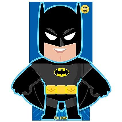 Batman feliz cumpleaños tarjeta de felicitación -