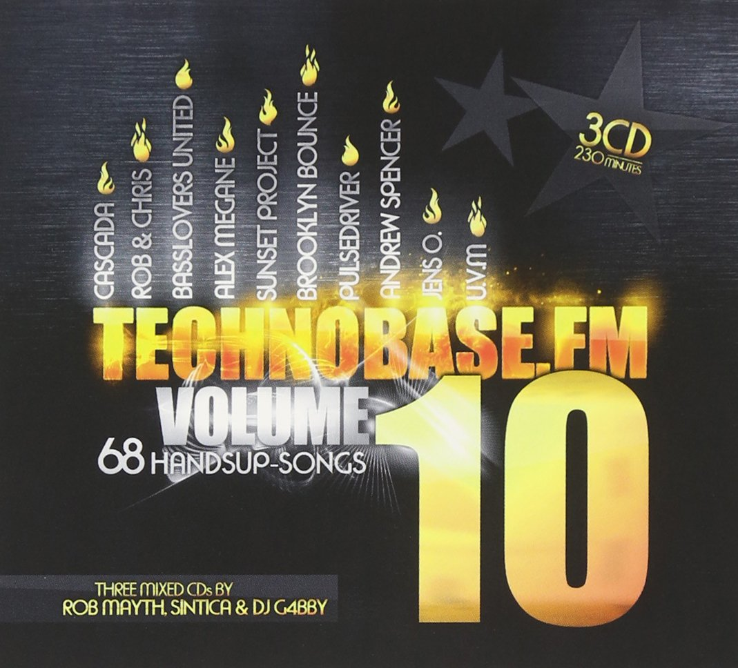 Various Artists - TechnoBase.FM Vol. 10 [CDs ► mixed , Digital ► Edits]