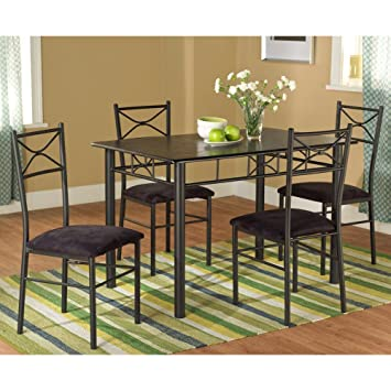 Amazon Com Target Marketing Systems Piece Valencia Dining Set