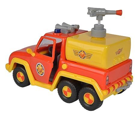 Film- & TV-Spielzeug Simba 109257656 Feuerwehrmann Sam Feuerwehrauto Venus mit Figur und