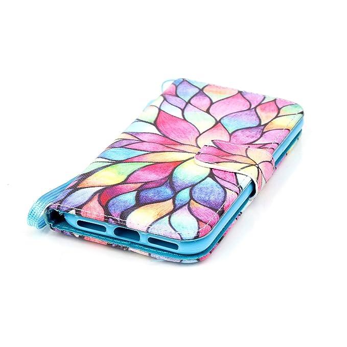 Amazon.com: Carcasa tipo billetera para iPhone 7 de Apple ...