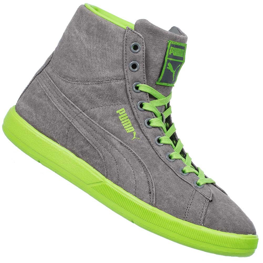 Puma Archive Lite Mid Washed Trainers in Grey   Green 355536 03  UK 5 EU  38   Amazon.co.uk  Shoes   Bags 5d38e4a5d218