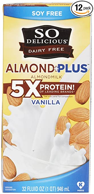 5. So Delicious - Dairy Free Almond Milk Vanilla