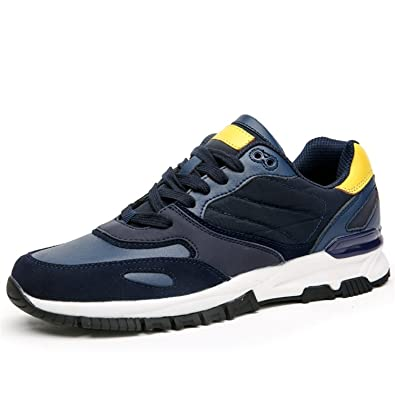 Sneakers Sport Sneaker Mens Shoe for Men Zapatillas Free Run Wide Low Rubber Breathable Blue 7