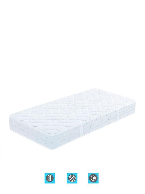 Flex Colchón Multielastic Juvenil A blanco/azul 90x190