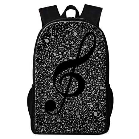Amazon.com  Dispalang Pretty Music Note Print School Backpack for Children  Girls Stylish Art Bookbags  Toys   Games 45943b7056875
