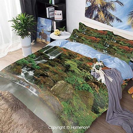 Juego de sábanas de cama Juego de funda nórdica de 3 piezas