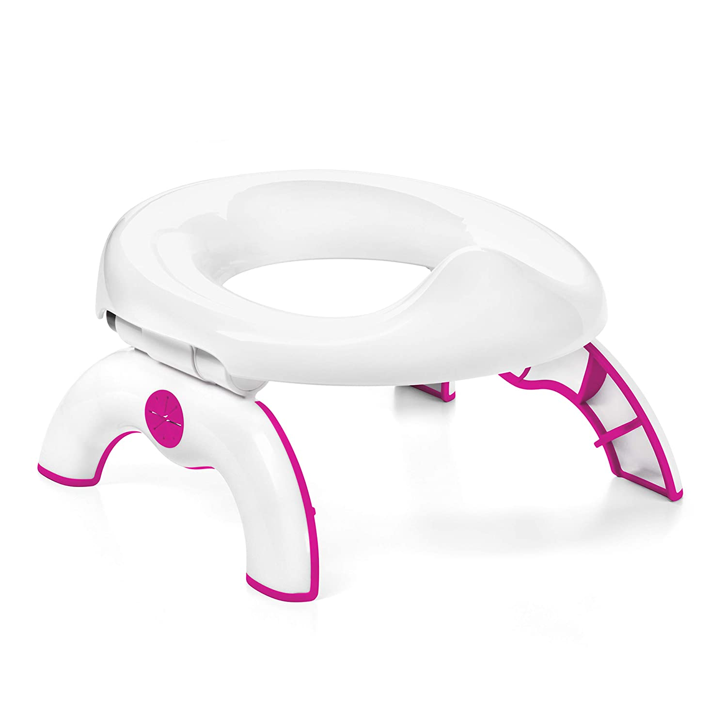 B00NFJICN0 OXO Tot 2-in-1 Go Potty for Travel - Pink 71JqgJ2BSZcL