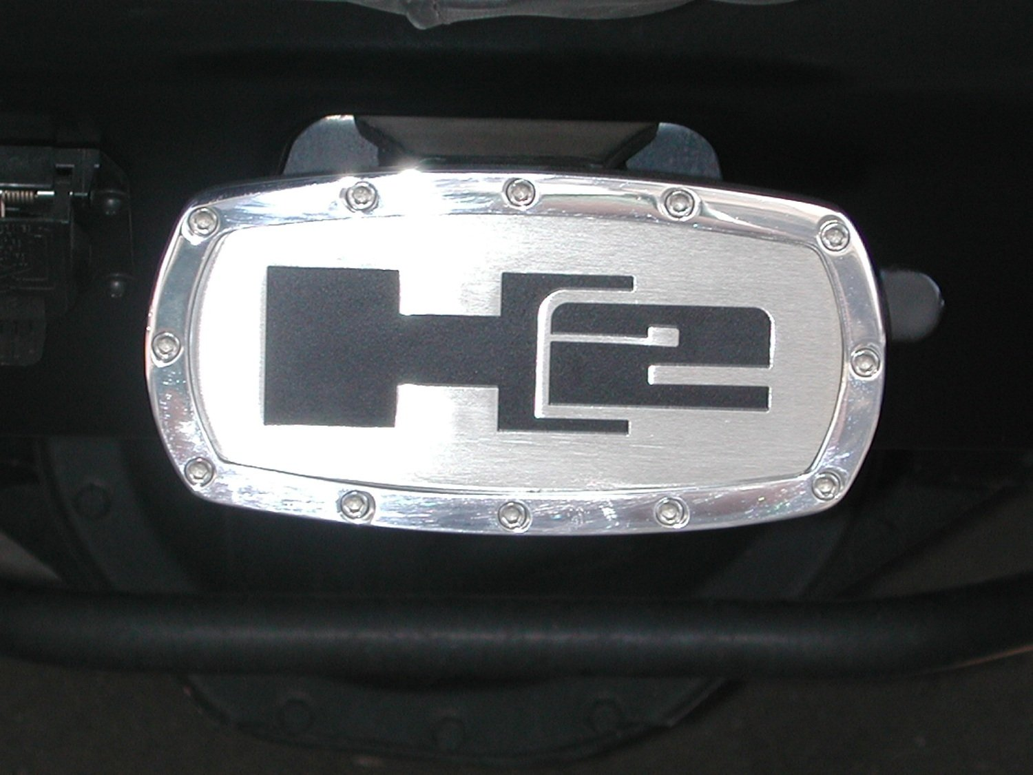 All Sales 1002 H2 Receiver Hitch Cover