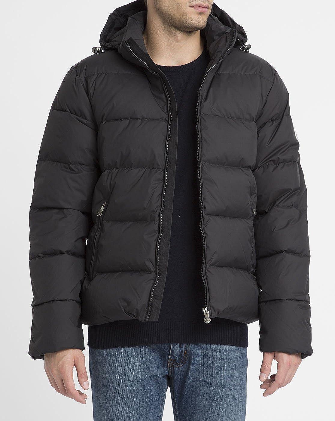 54f6deb3e5a PYRENEX - Down Jackets - Men - Black Matte Spoutnic Removable Hood ...