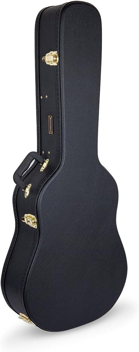 Dreadnought Guitars - Funda rígida de madera para guitarra acústica de 6 cuerdas: Amazon.es: Instrumentos musicales