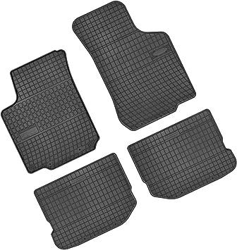 Bär Afc Se03473 Gummimatten Auto Fußmatten Schwarz Erhöhter Rand Set 4 Teilig Passgenau Für Modell Siehe Details Auto