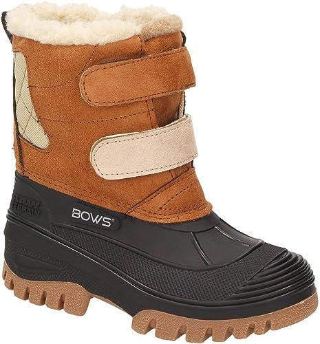 BOWS® Keke Mädchen Kinder Schnee Winter Stiefel Winterboots Schuhe Warmfutter wasserdicht wasserabweisend